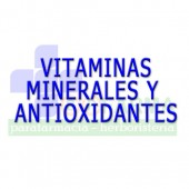 Vitaminas , minerales y antioxidantes